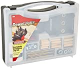 Milescraft 1309 DowelJigKit - Complete Doweling Kit with Dowel Pins and Bits