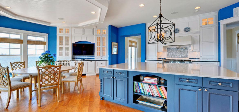 Design Trend Blue Kitchen Cabinets Ideas to Get You Started - Sebring Design Build